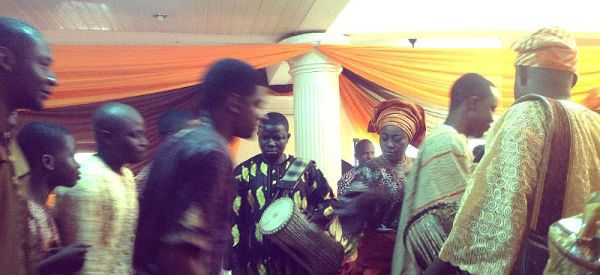 My first traditional Yoruba wedding...Well, the first I remember